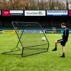 Freestanding Gaelic Football Kickback Rebound Net