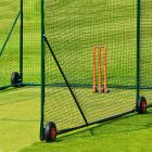 Mobile Cricket Cage With 6 Heavy Duty Wheels | Premium 48mm Mesh Netting | Net World Sports