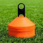 Orange Lacrosse Marker Cones