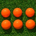 6 Pack Of High-Visibility Orange Cricket Balls | Net World Sports