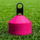 Pink American Football Training Marker Cones