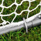 100% Weatherproof Steel Frame With HDPE Goal Net | Net World Sports