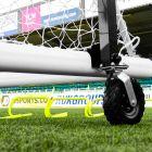 High Lift Football Goal Wheels