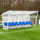 Ultra Durable Blue Seat Team Shelter