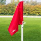 Red Corner Flags