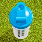 Protein Shaker Bottle With Screw Cap Lid