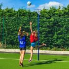 School Netball Goals Training Equipment Hoop And Stand