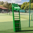 Professional Wooden Tennis Umpires Chair | Anti-Slip Steps | Pivot Tray Included | Net World Sports