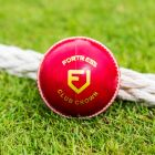Traditional Red Leather Cricket Balls