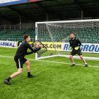 Soccer Goalkeeper Rebounder Training Drills