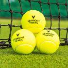 Training Tennis Balls High Vis Felt Exterior