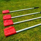 5ft Tall Gaelic Football Perimeter Flags