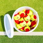 Vermont Mini Red Tennis Balls | Stage 3 | Bigger & Softer To Aid Shot Development | Net World Sports