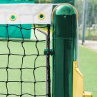 Vermont Tennis Posts - Round | Socketed Tennis Posts | Wimbledon Green Tennis Posts | Net World Sports
