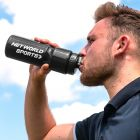 Black Sports Water Bottle