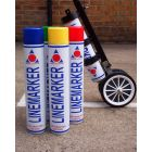 Aerosol Line Marking Paint Various Colours