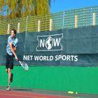 Green Outdoor Badminton Privacy Screen